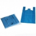1 Box of 2000 Blue Vest Style Carrier Bags size 11 x 17 x 21 14 Micron